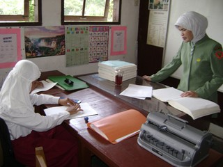 Bersama guru