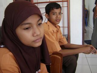 Anak Kurao yang ke SMP Pertiwi