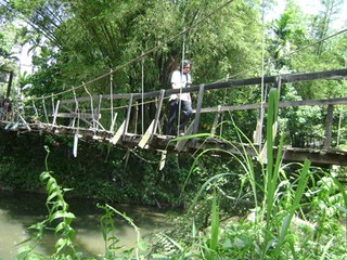 Jembatan Gantung Reot